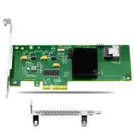 9211-4I PCIe 4-Port 6Gb/s SAS SATA Host Bus Adapter w/ Integrated RAID 0 1 1E 10