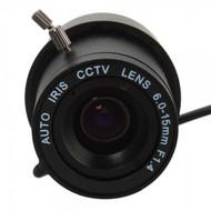 "1/3"" F1.4 IRIS Manual CCTV Video Lens (6mm-15mm)"