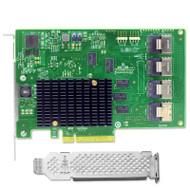 9201-16i PCI Express HBA Card 16-Port SATA SAS Host Bus Adapter 6Gb/s for Server