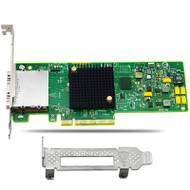 QLE2562 8Gb/s Dual Port FC Host Bus Adapter PCIe w/ 2x SFP+ LC Multi-mode Module