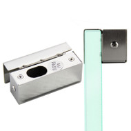 Door Stainless Steel Bracket Clamp for Frameless Glass Door Bolt Lock