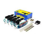 4piece/lot Universal 12v 4001 Central Lock  for  Central Locking System