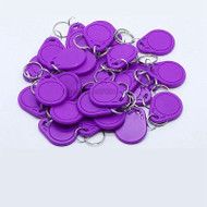 50pcs/lot NTAG216 NFC tags NFC keychain cards NTAG216 Electronic tags