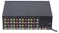 1 Input 16 Chs VIDEO AUDEO Output 16 load video audio amp spliter RCA Connector AV Splitter