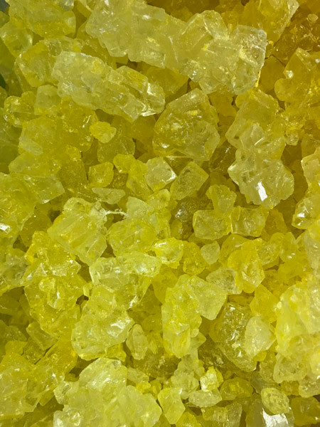 Rock Candy - Lemon