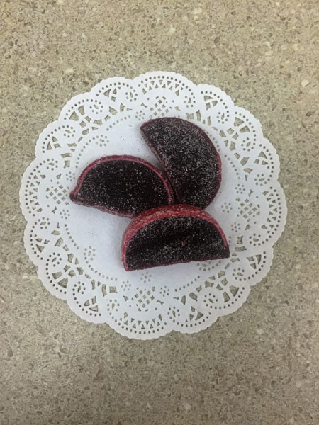 Pomegranate Fruit Slices