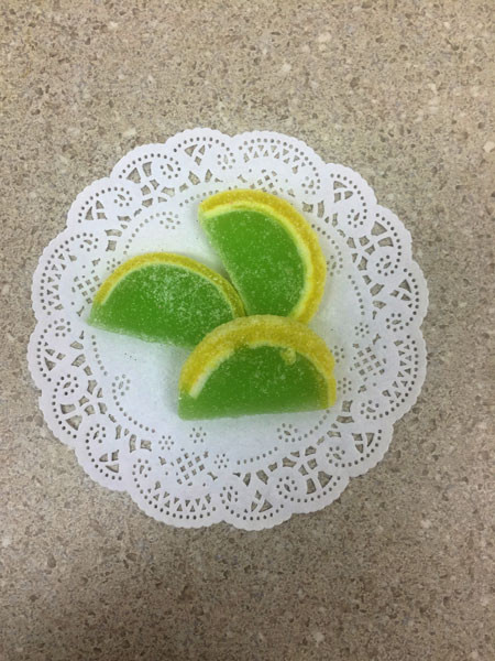 Key Lime Fruit Slices
