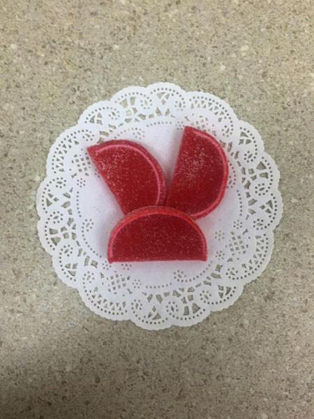 Red Raspberry Fruit Slices