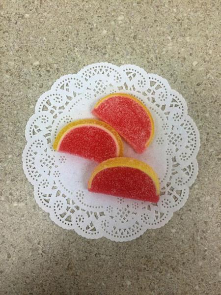 Pink Grapefruit Fruit Slices