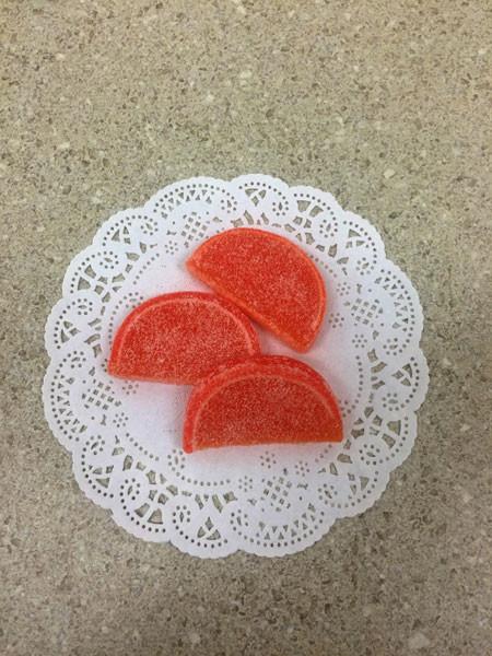 Peach Fruit Slices