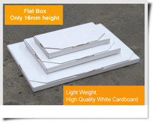 Paper carton Flat Letter Size Mailing Box Size packaging postage suppliers