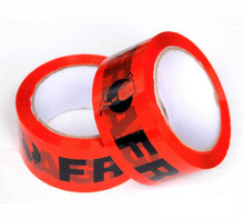 36 Rolls Fragile Tape RED Packaging Tape 75Meter x 48mm