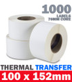 High Quality Thermal Transfer Labels, producing durable, long-lasting images