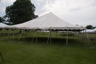 40 x 40 Sectional Canopy Pole Tent