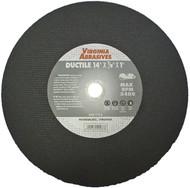 """14""""x1/8""""x20mm Ductile Cutoff Wheel"""
