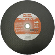 "14""X1/8""X20mm Metal Cutoff Wheel"