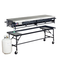 "24"" x 72"" Portable Propane Gas Grill Rental Starting At:"