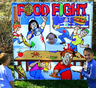 Food Fight Frame Game 1