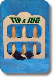 Tip a Jug Tabletop Carnival Game Rental Starting At: