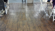 20' x 20' Wooden Dance Floor 1