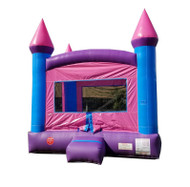 Pink Bounce House Rental Starting At: