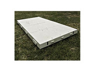 Dura-Trac 4' x 4' Poly Event Flooring (WHITE) Rental Starting At: