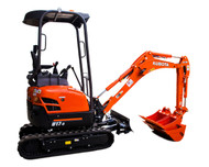 Mini Excavator Rental Starting At:
