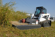 Skid Steer Brush Hog Attachment Rental Starting At: