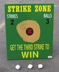 Strike Zone Baseball Tabletop Carnival Game Rental Starting At: