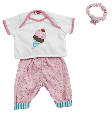 "Adora Baby Time Ice Cream Ensemble fits Adora Baby Time 16"" Dolls"