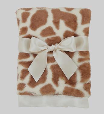 Bearington Crib size Giraffe Blanket