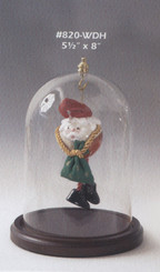 Glass Doll Display Dome 5.5 Dia x 8' High
