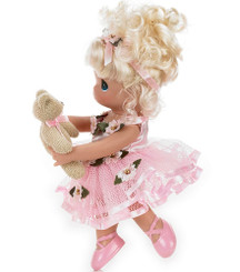 "Precious Moments 'Dance With Me '9"" Vinyl Blonde Doll"