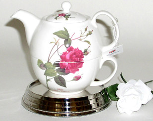Royal Patrician 'Rose Garden' English bone china tea for one