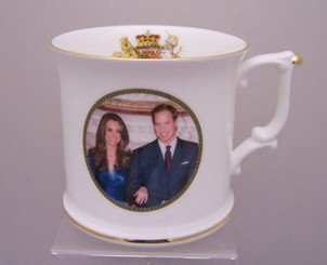 William and Catherine Palace Bone China Palace Tankard