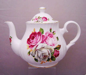 Summer Bloom'  6 Cup English Bone China Teapot