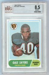 1968 Topps Gale Sayers #75 BVG 8.5 0006270682
