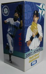 """2007 Ichiro """"GOLD GLOVE"""" Bobblehead FSN"""