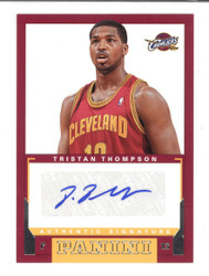 2012-13 PANINI ROOKIE SIGNATURES TRISTAN THOMPSON RC AUTO