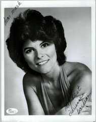 ADRIENNE BARBEAU, ACTRESS SIGNED 8X10 JSA AUTHENTICATED COA #N50182