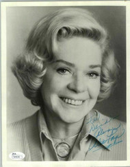 ALICE FAYE (DECEASED) OSCAR WINNER AUTOGRAPH SIGNED 8X10 JSA #N44638
