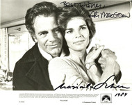 "ALI MACGRAW & MAX SCHELL AUTOGRAPHED SIGNED 8X10 PHOTO ""PLAYERS"""