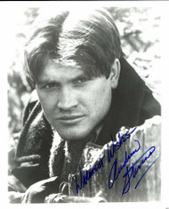 """ANDREW STEVENS AUTOGRAPHED SIGNED 8X10 PHOTO WARMEST WISHES"""""""
