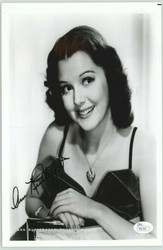 ANN RUTHERFORD DECEASED SCARLETT'S SISTER IN GONE W/ THE WIND SIGNED JSA #P4172