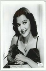 ANN RUTHERFORD DECEASED SCARLETT'S SISTER IN GONE W/ THE WIND SIGNED JSA #P4172