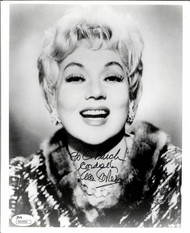 ANN SOTHERN, ACTRESS SIGNED (DECEASED) 8X10 JSA AUTHENTICATED COA #N44498