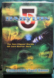 BABYLON 5 60 CARD STARTER DECK THE NON-ALIGNED WORLDS FACTORY SEALED