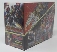 CARDFIGHT VANGUARD DIMENSIONAL BRAVE KAISER BOX 6 x VGE-TD12 FACTORY SEALED BOX!