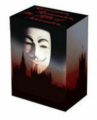 CASE OF 15 LEGION GUY FAWKES DECK BOX FITS 100 SINGLE SLEEVED CARDS MTG POKEMON