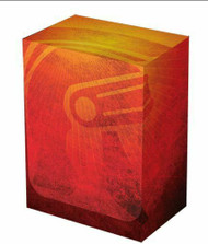 CASE OF 15 LEGION LOGO DECK BOX FITS 100 SINGLE SLEEVED CARDS MAGIC POKEMON